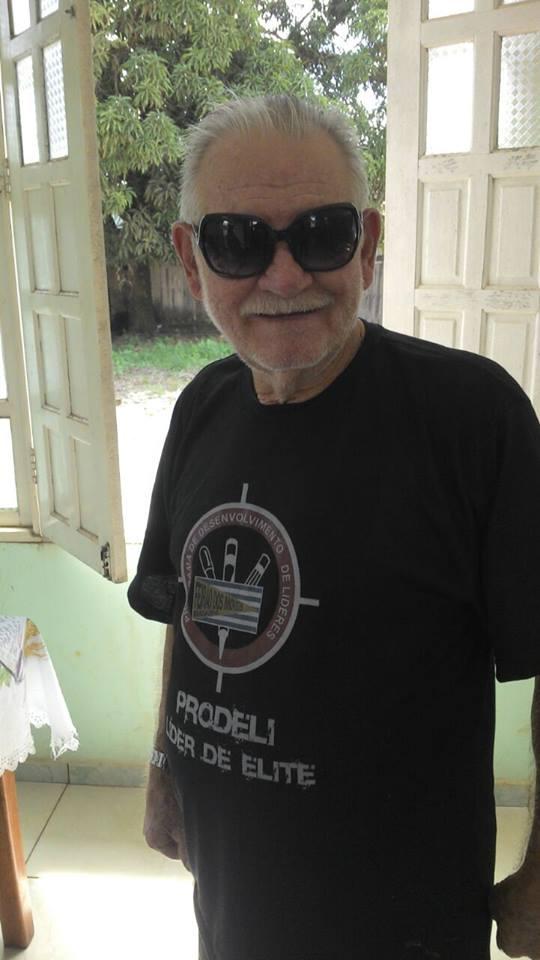 Sr. Levino Bonemann, conhecido como Porreta (Foto: divulgação)