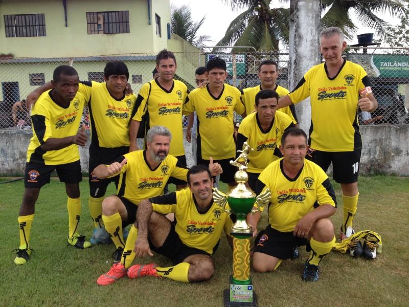 Galáticos campeão da primeira fase (Foto: Josenaldo Jr / Portal Tailândia)