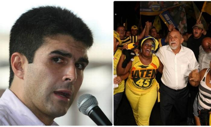 Helder Barbalho (PMDB) e Simão Jatene (PSDB) estão disputando voto a voto a eleição - Fotos de divulgação