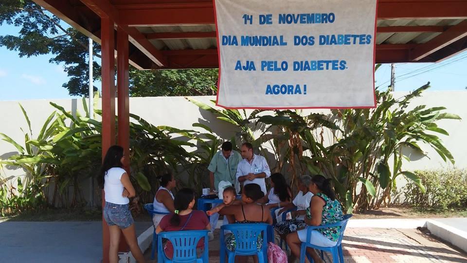 HGT faz combate à Diabetes junto aos usuários (Foto: Facebook HGT)