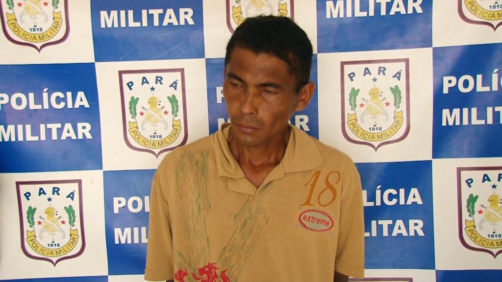 Raimundo das Neves Palheta de 34 anos preso por tráfico de drogas
