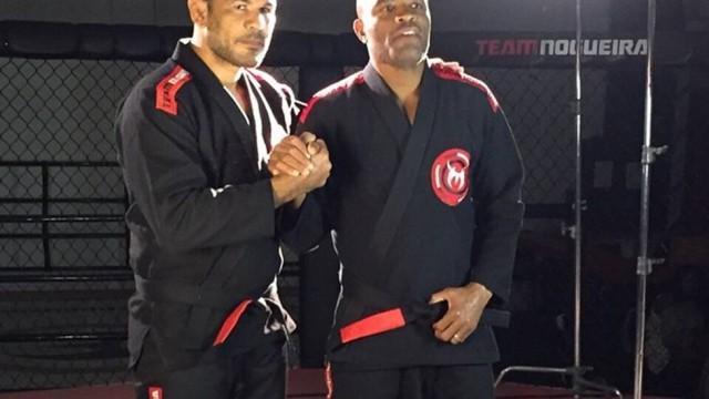 Rodrigo Minotauro e Anderson Silva (Foto: divulgação)