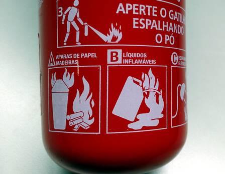 A partir do dia 1º de janeiro de 2015 todos os extintores de incêndio para carros deverão ser do tipo ABC