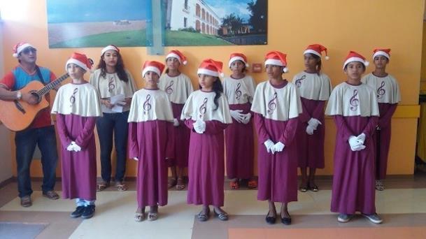 HGT e parceiros promovem Natal solidário na ala infantil do hospital