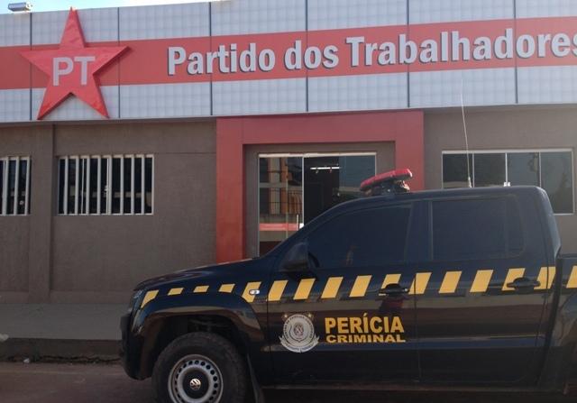 Dede do Diretório Municipal do Partido dos Trabalhadores em Jacundá