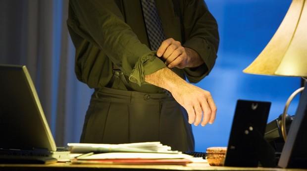 Milionários conseguem malhar, almoçar com calma, estudar e realizar suas tarefas no trabalho (Foto: ThinkStock)