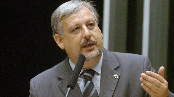 O deputado Ricardo Berzoini (PT-SP), nomeado ministro das Comunicações (Gilberto Nascimento/Agência Câmara/VEJA)
