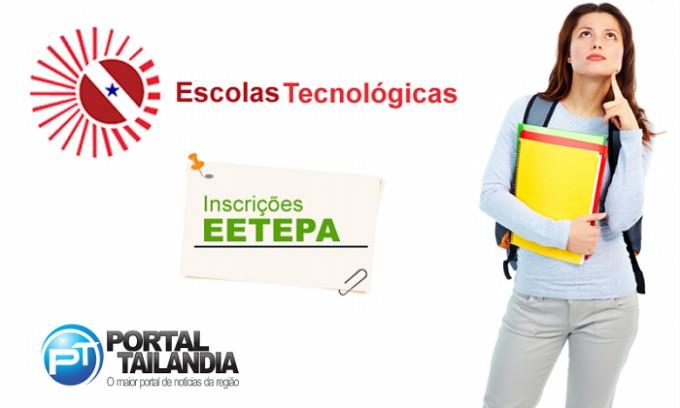 Inscrições abertas para as EETEPAs.