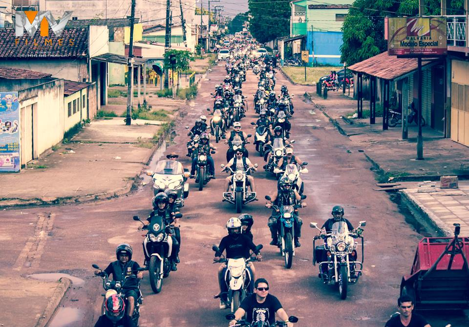 1° Moto Show de Tailândia (Foto: MV Filmes)