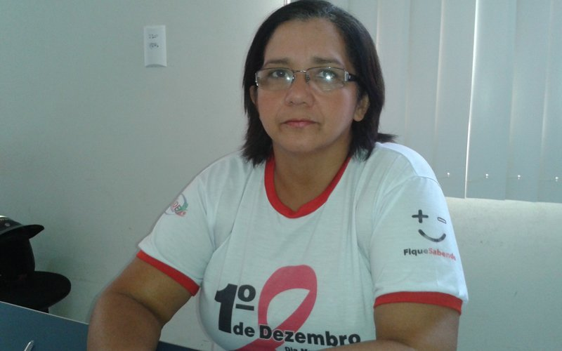 Coordenadora do Centro de Testagem e Aconselhamento de DST/Aids (CTA) de Redenção, Coracy Santos. (Foto: Dinho Santos/Diário do Pará)