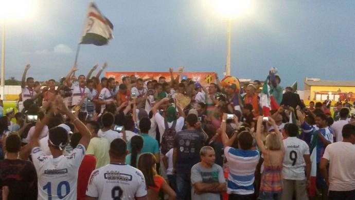 Independente é o campeão do primeiro turno do estadual (Foto: Tayná Martinez/Arquivo Pessoal)