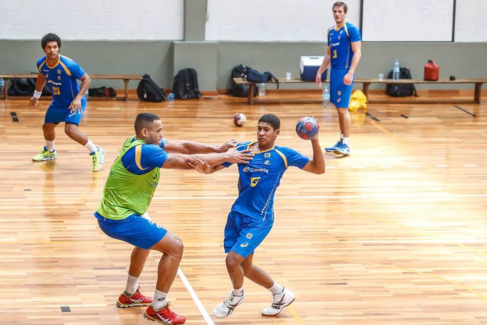 Marcos Vinícius Vieira dos Santos, 17 anos, é um dos 17 convocados pelo técnico da Seleção Júnior (Foto: divulgação)