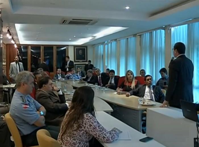 Reunião na Assembleia Legislativa do Estado  - Alepa (Foto: TV Liberal)