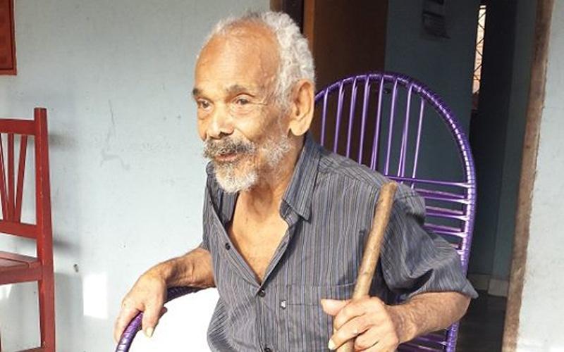 Seu Martinho de Abreu Lima completou 113 anos de idade na última sexta-feira (6). (Foto: Dinho Santos/Diário do Pará)