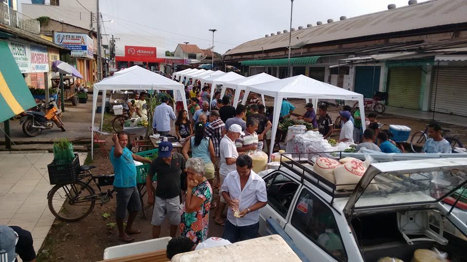 Feira livre municipal de Tailândia (Foto: divulgação)