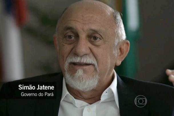 O governador Simão Jatene foi destaque no quarto episódio da série 'Amazônia, Sociedade Anônima', apresentada pelo 'Fantástico'