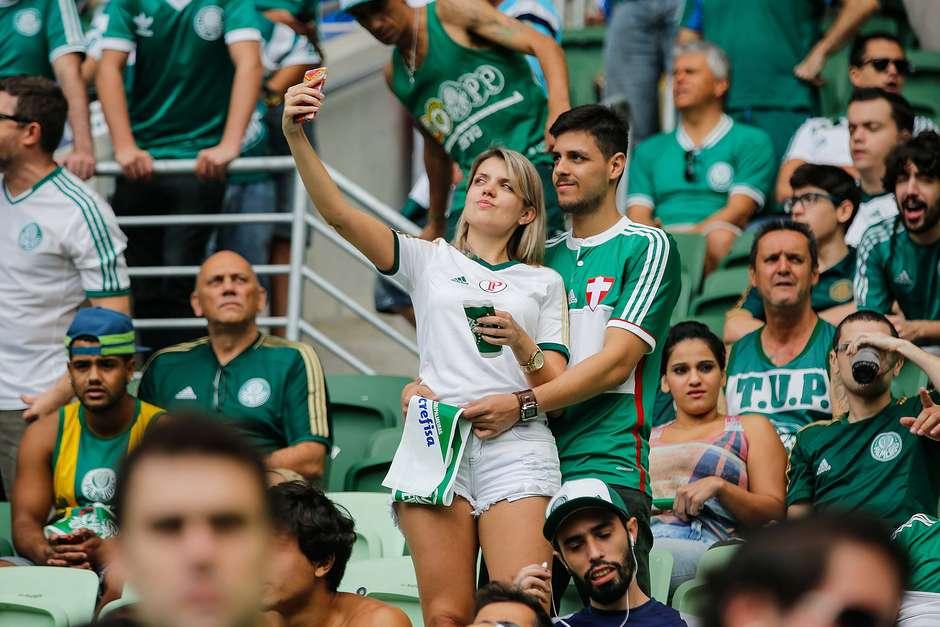 Palmeiras turbinou sócio-torcedor e lota Allianz Parque (Foto: Leandro Martins / Futura Press)