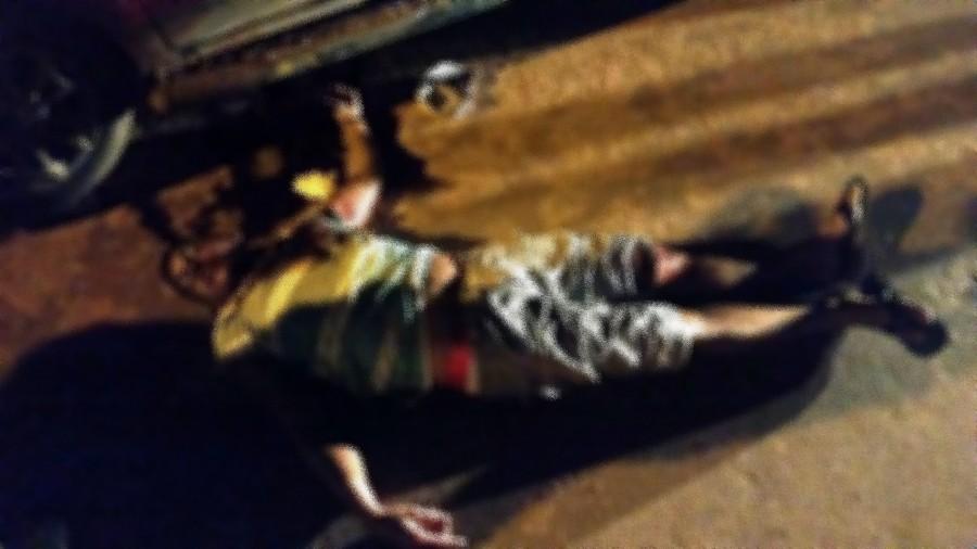 A ação aconteceu noite deste domingo, 24, na Travessa Aveiros, próximo a Escola EETEPA.