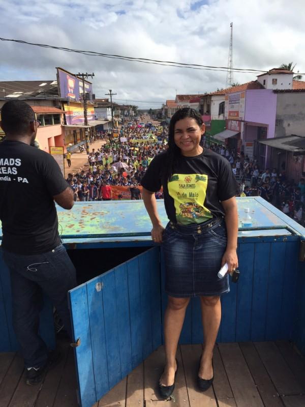 Sunamita Sobral Secretária de Assistência Social do Município (Foto: divulgação)