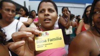 Beneficiários do Bolsa Família(Welton Araújo/Agência A Tarde/AE/VEJA)