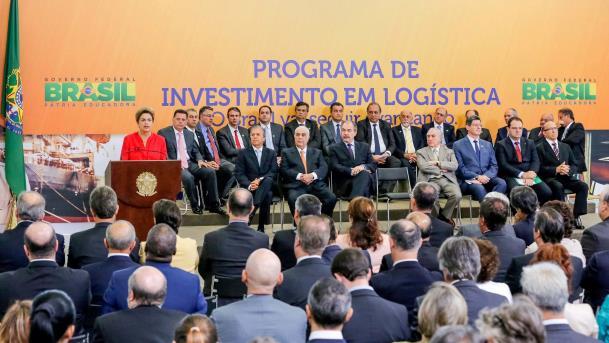 O governador Simão Jatene participou da solenidade de lançamento de mais uma etapa do Programa de Investimento em Logística, em Brasília