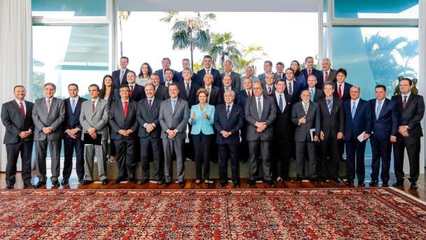 O encontro dos governadores de todos os Estados com Dilma Rousseff é a apresentação de uma proposta para um 'pacto pela governabilidade' (Foto: divulgação)