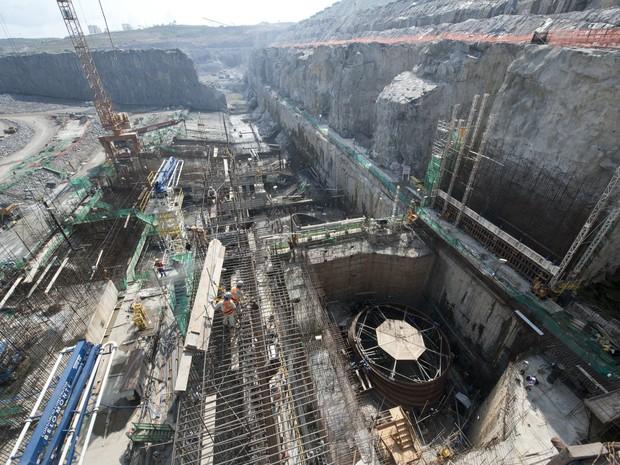 O Ibama faz 12 exigências para liberar a licença de operação da Usina Belo Monte (Usina Belo Monte/reprodução)