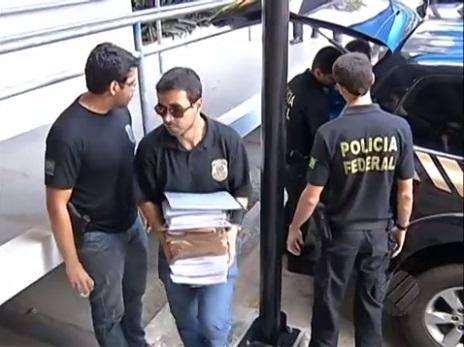 """A operação """"Tabebúia"""", que combate uma quadrilha especializada na aprovação e exploração de planos de manejo florestais irregulares (foto: TV Liberal)"""