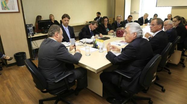 Reunião na Confaz: regras prejudicam pequenas empresas (Foto: ASN/Charles Damasceno)