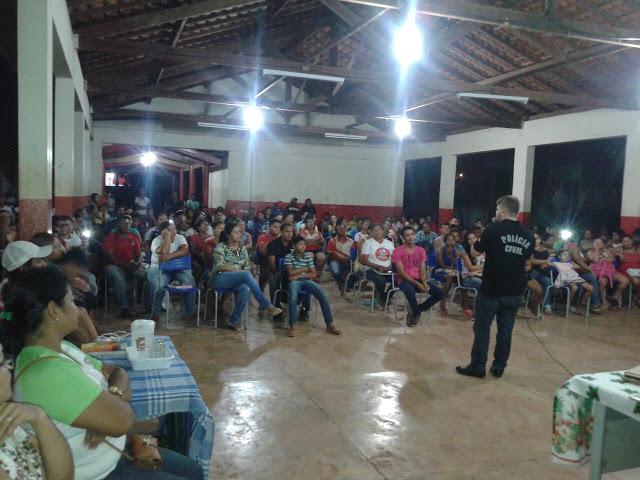 A população participou e aprovou a iniciativa (foto: POLÍCIA DO PARÁ Ao Alcance de Todos)