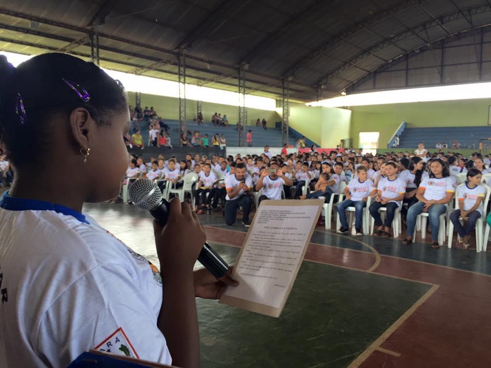 540 alunos de várias escolas participaram do projeto (foto: Josenaldo Jr / Portal Tailândia)