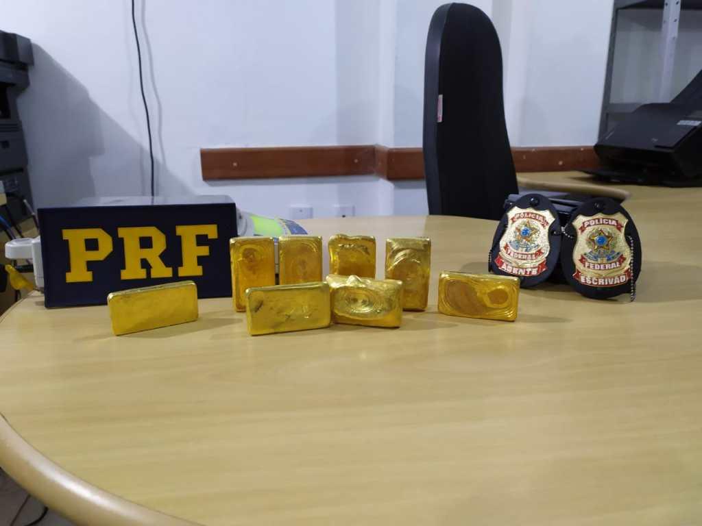 Homem é preso pela PF em Marabá com R$ 1.6 milhões em barras de ouro